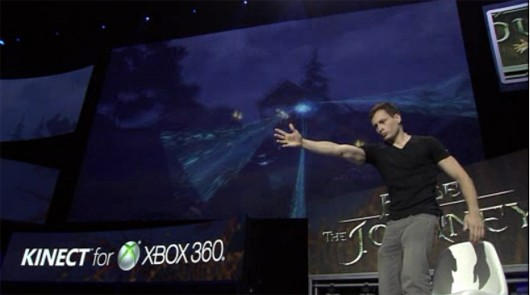 Fable: The Journey uses Kinect for some reason.