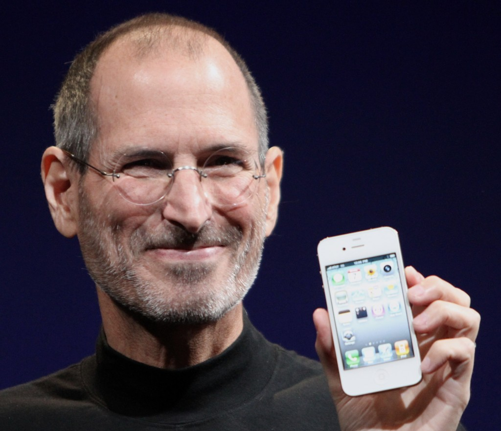 Jobs in 2010 with the iPhone 4.